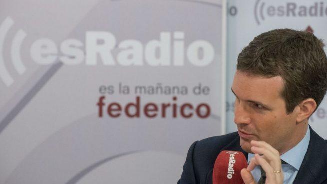 Casado denuncia la «agenda batasuna» de Sánchez y llama a echarlo en mayo en las urnas