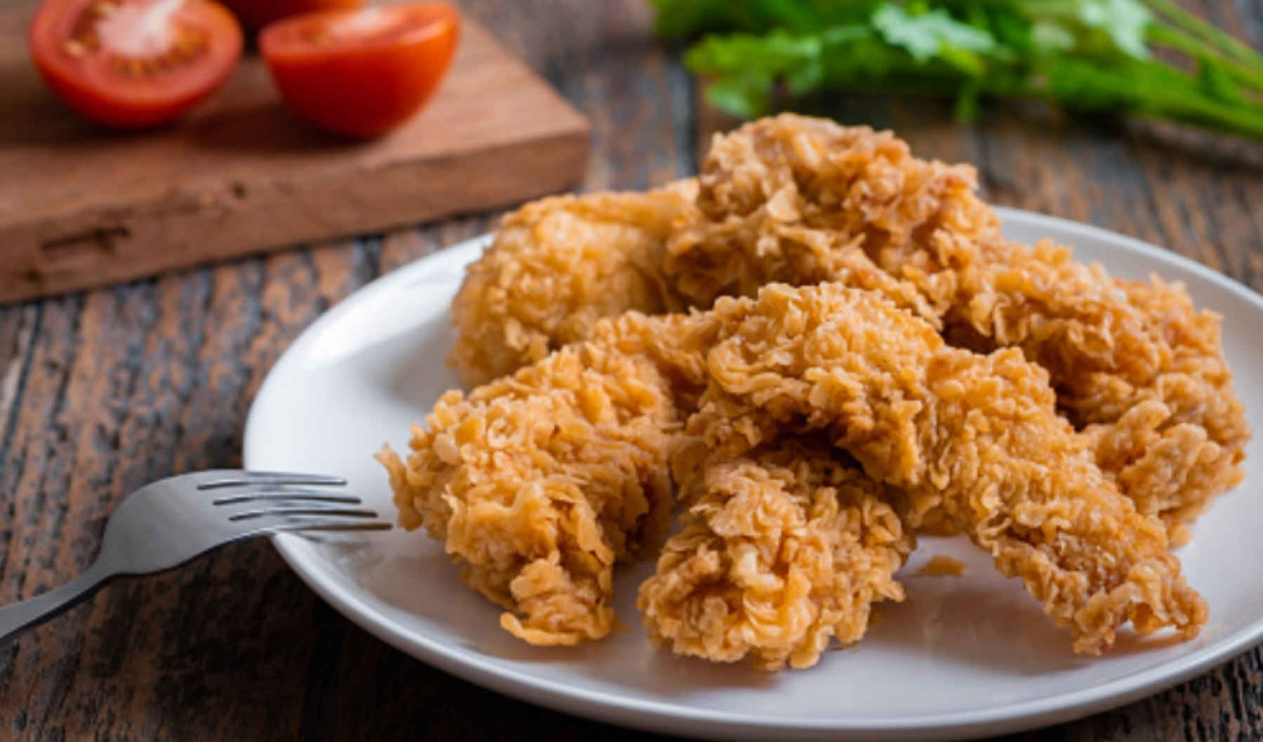 pollo rebozado con cereales