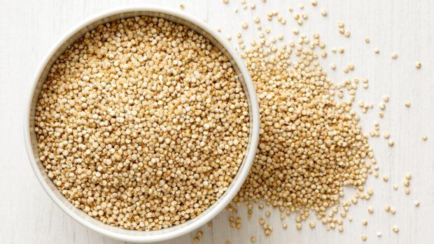 quinoa con setas