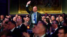 Luis Rubiales, nuevo miembro del Comité Ejecutivo de la UEFA. (@RFEF)