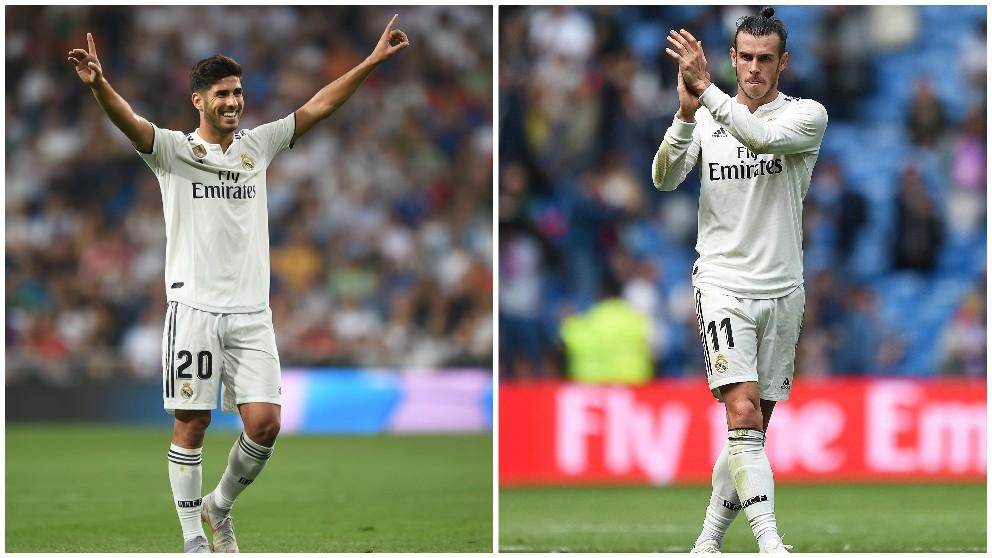 Asensio y Bale podrían volver al once contra el Atlético de Madrid. (Getty)