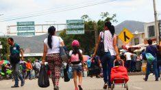 Éxodo en Venezuela.