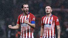 Diego Godín y Saúl Ñiguez entran en la convocatoria del Atlético contra el Madrid. (Getty)