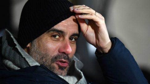 Pep Guardiola sigue echando leña al madridismo. (Getty)