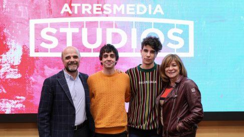 Javier Ambrossi y Javier Calvo firman un contrato de exclusividad con Atresmedia Studios.