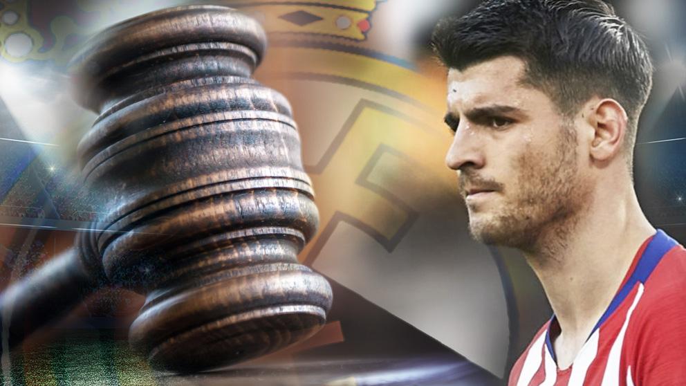Juicio a Morata en el Metropolitano.