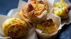 Receta de muffins de tortilla