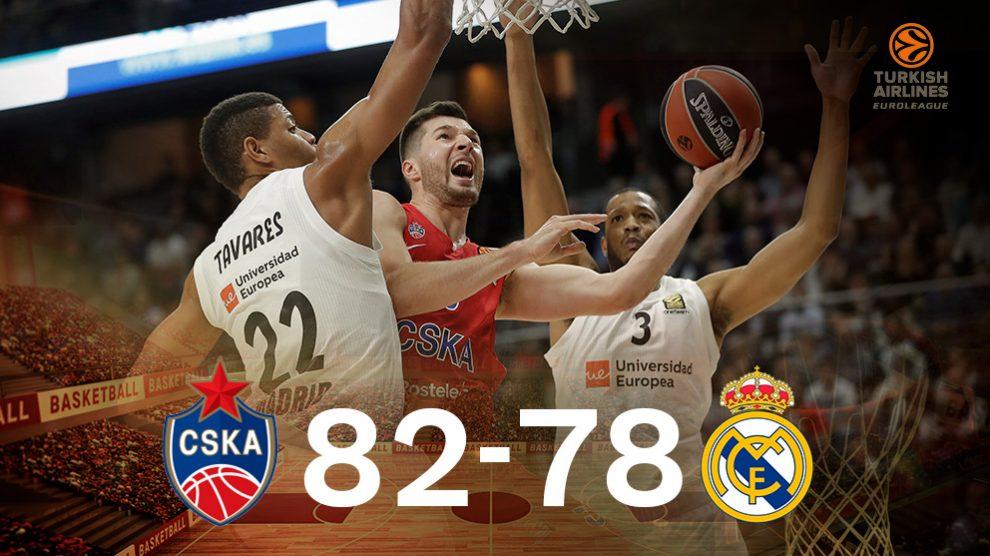 El Real Madrid perdió el segundo puesto en Euroliga con polémica.