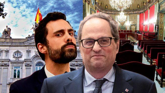 Torra asistirá con 2 diputados catalanes a la primera sesión del juicio del 1-O en el Supremo