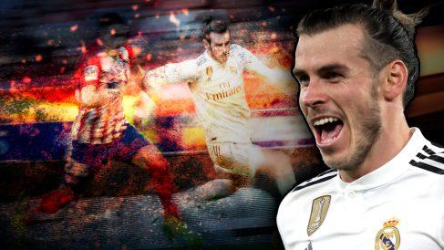 Gareth Bale respondió a su suplencia con un gol en el derbi madrileño.