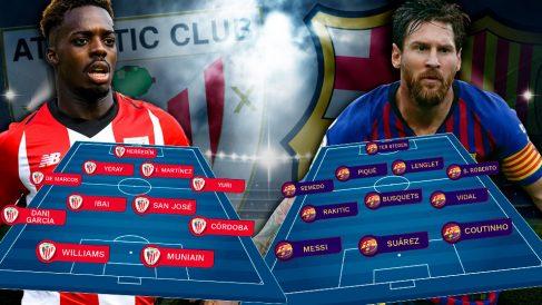 El Athletic y el Barça tienen un duelo de mucho nivel por delante.