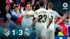 Gareth Bale hizo un corte de mangas en el 1-3 del Real Madrid al Atlético en el Metropolitano.