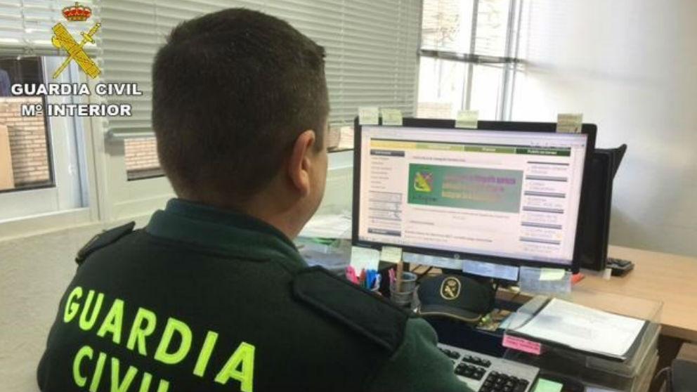 Un agente de la Guardia Civil (Foto: Europa Press)