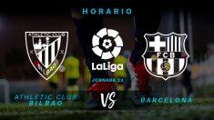 Athletic de Bilbao – Barcelona: Liga Santander | Jornada 23 | partido hoy