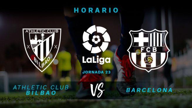 Athletic – Barcelona: Horario y dónde ver en televisión el partido de la Liga Santander