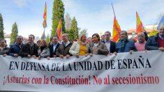 Manifestación en Asturias. Foto: Europa Press