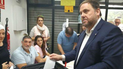 Oriol Junqueras. Foto: Europa Press