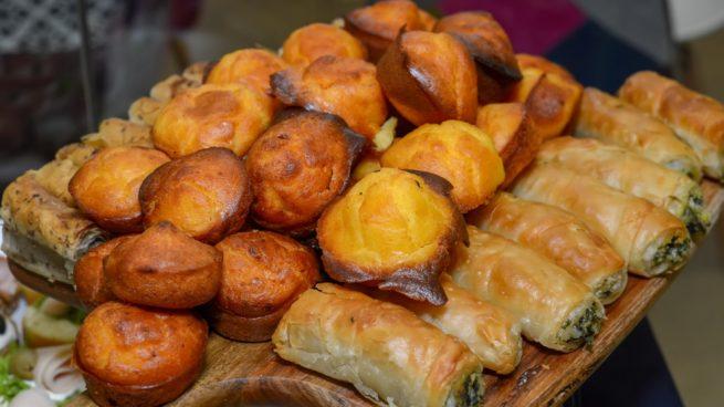 muffins salados de carne