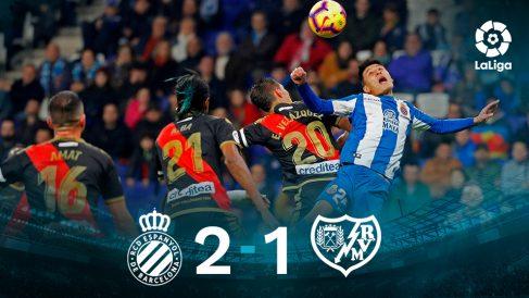 Liga Santander 2018-19: Espanyol – Rayo Vallecano | Partido de hoy de La Liga, en directo.