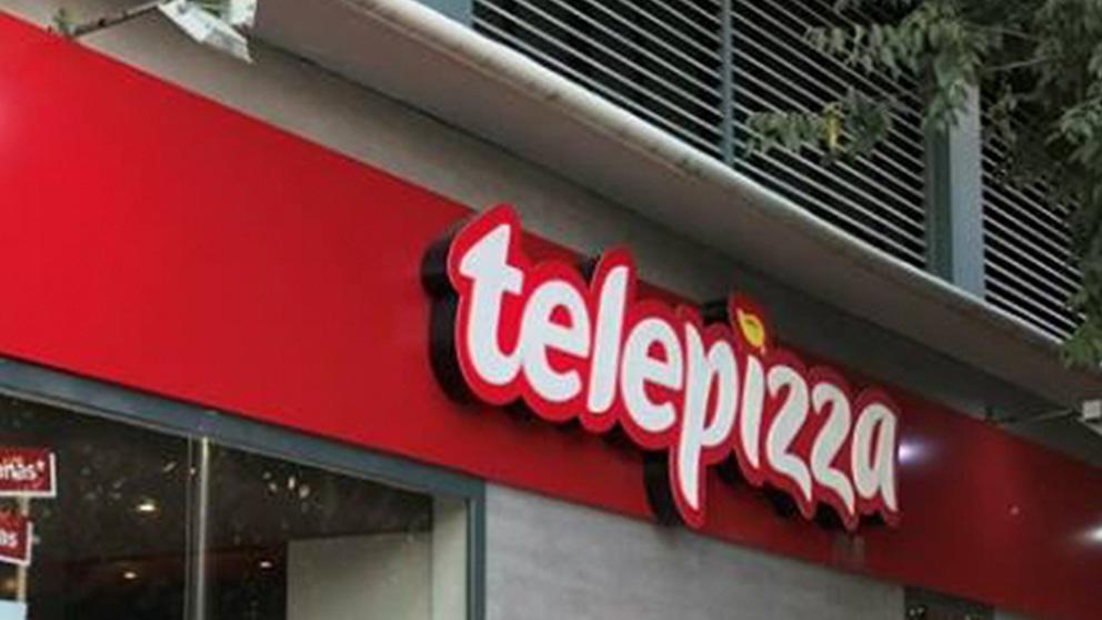Local de Telepizza.