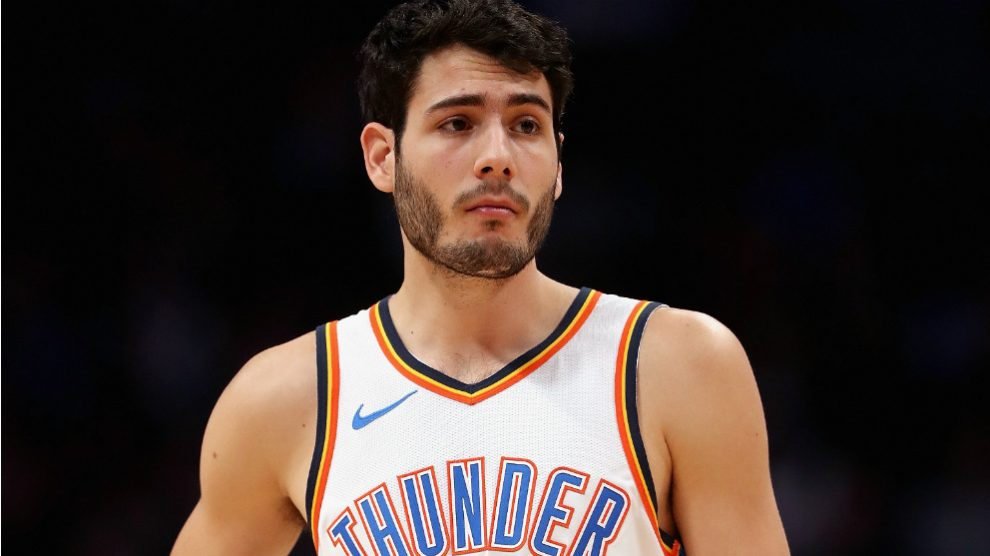 Álex Abrines no seguirá en Oklahoma. (Getty)