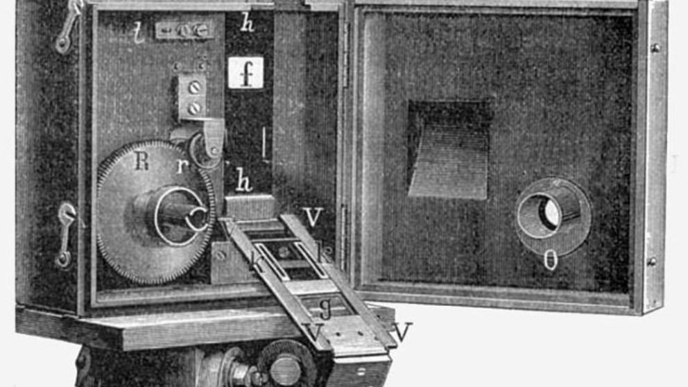 El cinematógrafo se basaba en el efecto de la persistencia retiniana de las imágenes sobre el ojo humano.