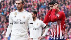 Gareth Bale y Álvaro Morata. (Getty)