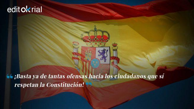 "La España constitucional dice: ""¡Basta ya!"""