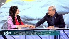 Sofía Suescun llama a Maite Galdeano en 'Sábado Deluxe'.