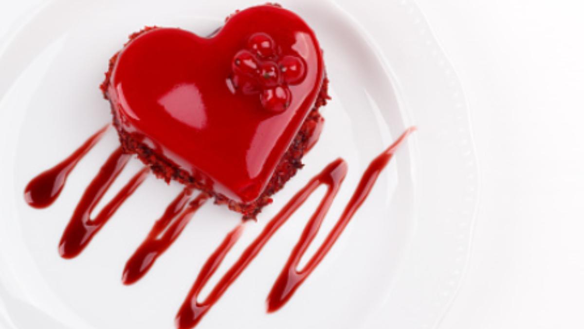 Receta de Tarta de San Valentín 2021