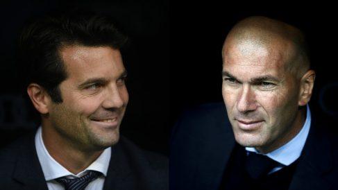 Solari sigue los pasos de Zidane. (Getty / AFP)