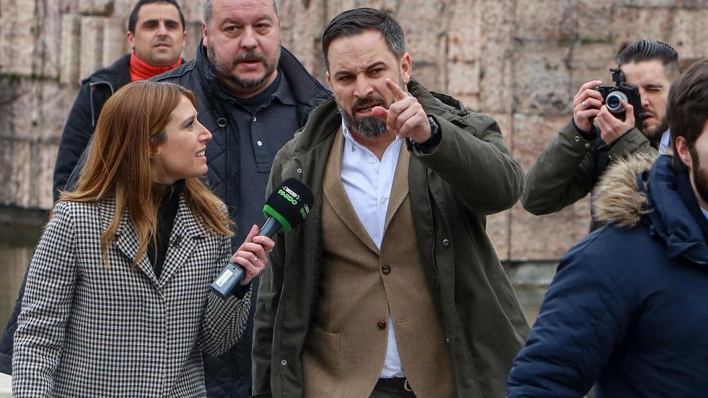 Santiago Abascal. Foto: Europa Press