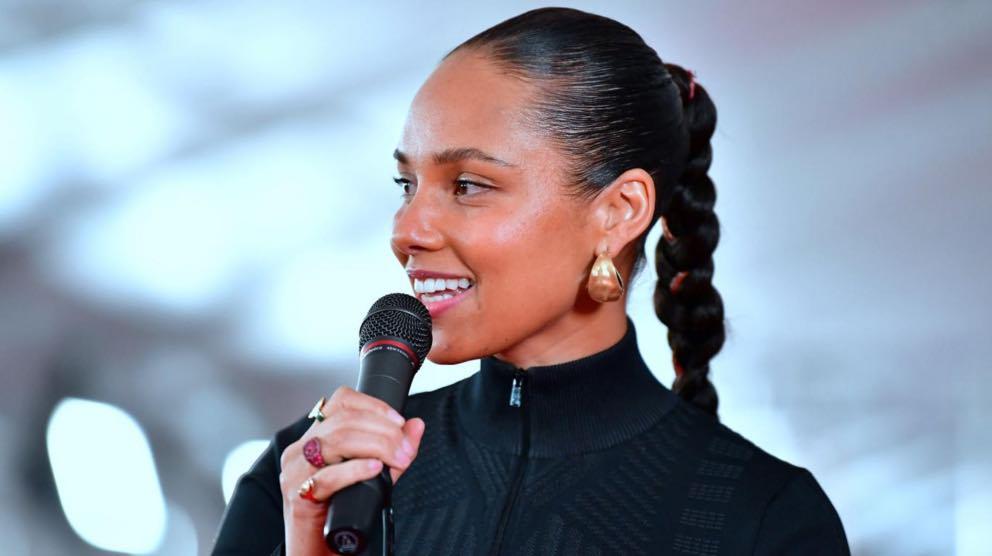 Alicia Keys en los Premios Grammy 2019