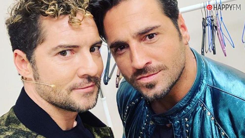 David Bisbal y David Bustamante, juntos en 'La Voz'