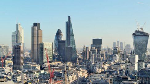 La City de Londres, donde trabaja el más importante sector financiero de la Unión Europea