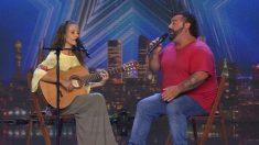 Kike y Sara fueron una de las actuaciones de la noche en 'Got Talent'