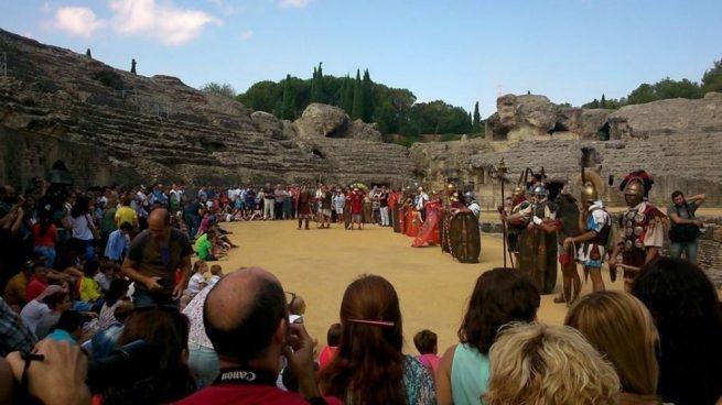 La candidatura de Itálica a la Unesco para ser Patrimonio de la Humanidad se aborda este lunes