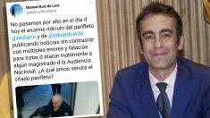 El juez Manuel Ruiz de Lara
