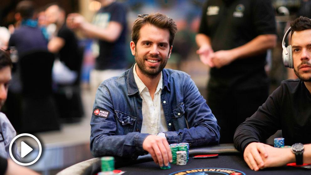 El catalán Ramón Colillas durante su participación en el campeonato PokerStars Players No Limit Hold'em Championship (PSPC).