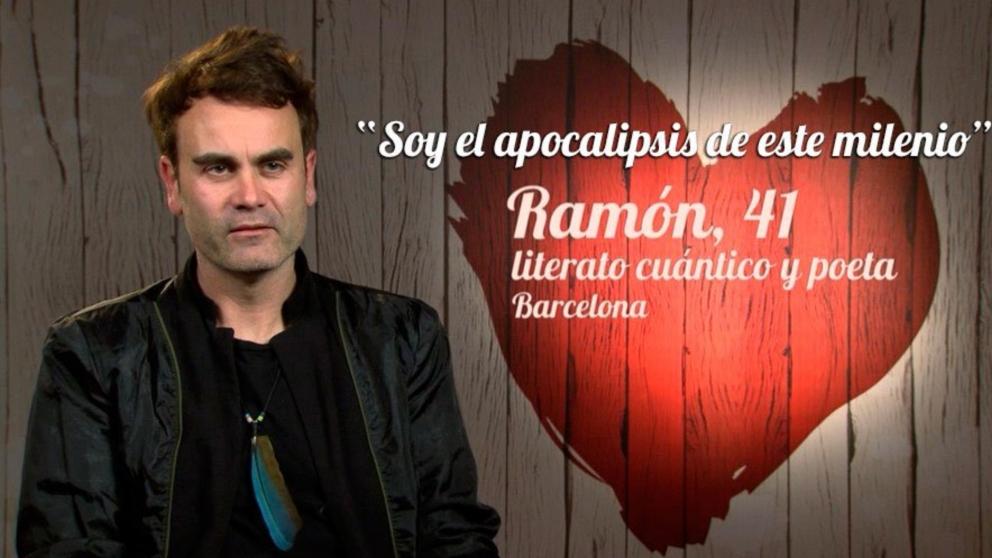 Ramón, el primer poeta cuántico de 'First Dates'