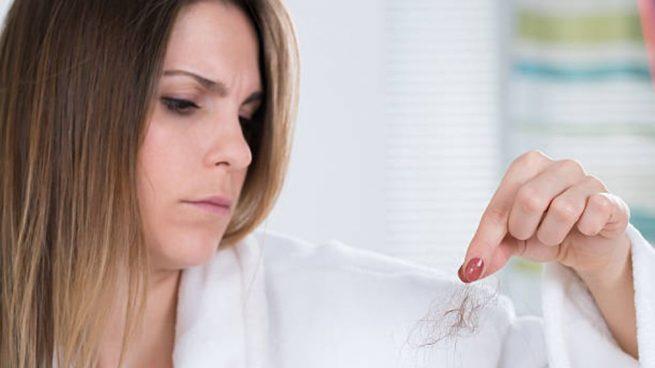 evitar caída cabello estrés