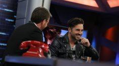 David Bustamante volvió a 'El Hormiguero'. (Foto: Antena 3)