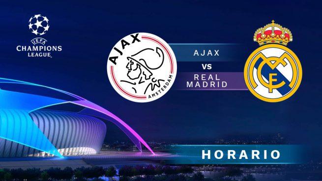 Ajax – Real Madrid: Horario y dónde ver el partido de la Champions League