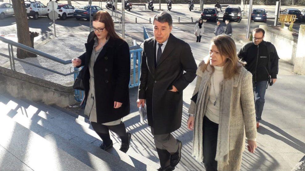 Ignacio González a su llegada al juzgado. Foto: Europa Press