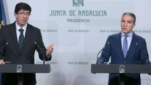 Juan Marin y Elias Bendodo