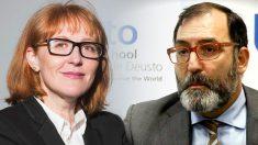 El juez Eloy Velasco y su mujer.
