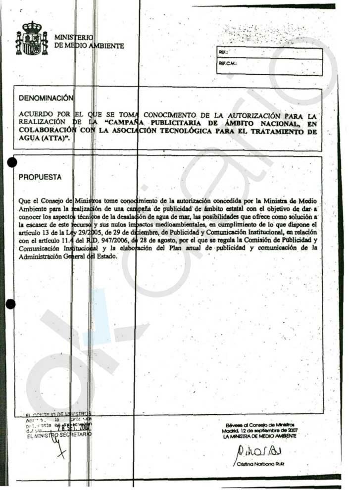 Narbona ordenó por email a las empresas que pagaran la campaña del PSOE investigada por financiación ilegal
