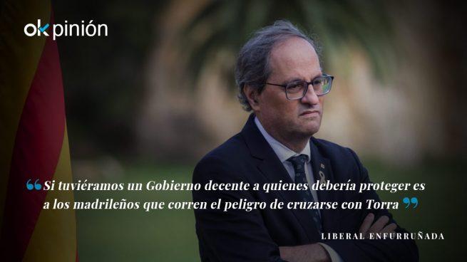 Torra exige que se garantice su seguridad en Madrid