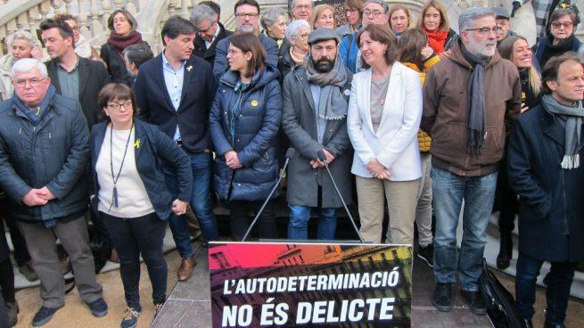 Los separatistas promueven un ciclo de protestas por el juicio del 1-O con marchas y huelgas