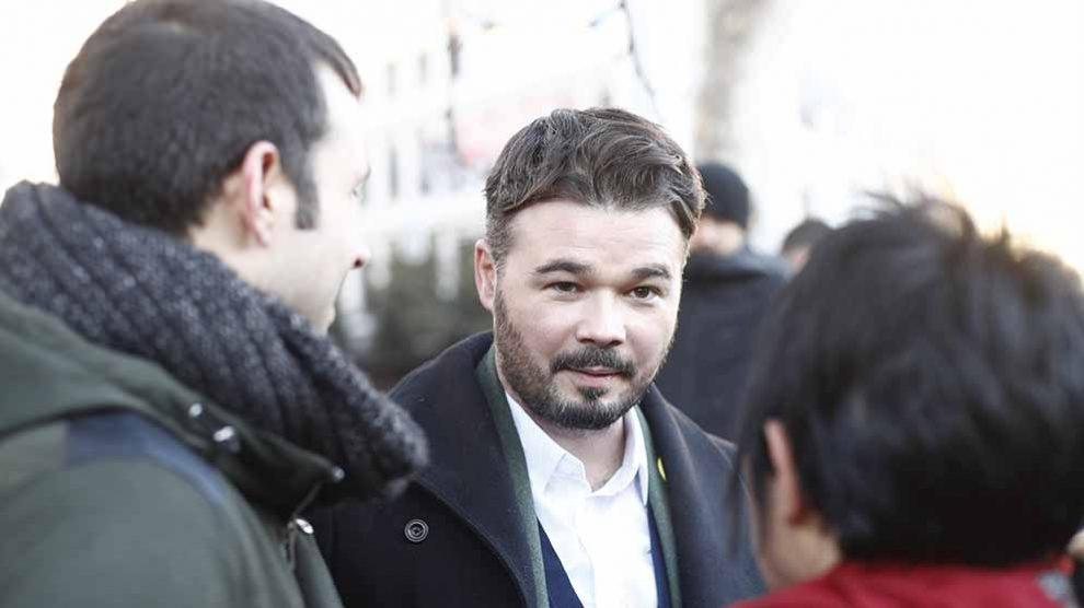Gabriel Rufián en una imagen reciente.